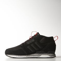 The ZX is ready for whatever winter brings. These men's shoes have warm PrimaLoft® insulation and feature a suede and nylon upper with EVA cushioning and the adidas ZXZ rubber outsole.
