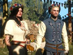 """When I want something I don't dream of it."" ~ Geralt and Yennefer's wedding…"