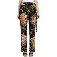 Dries Van Noten Floral Pajama Pant at Barneys.com