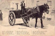 Wirksworth water cart c 1914