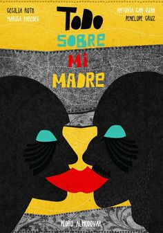 Todo sobre mi madre (All About My Mother) Minimalist Movie Poster