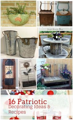 Roundup of DIY tutorials from My Repurposed Life's Catch as Catch Can