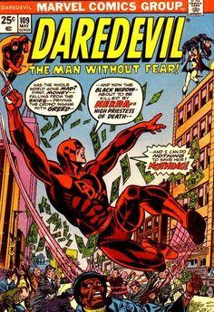 Daredevil # 109 by Gil Kane & Frank Giacoia