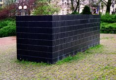 Black Form--Dedicated to the Missing Jewsby sculptor Sol LeWitt. Photo credit: Florida Center for Instructional Technology