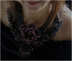 Kazari-Sakuiro's Beautiful Beaded Floral Jewelry - The Beading Gem's Journal