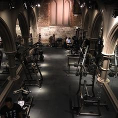 David Barton Gym, Limelight NYC - wow !!!!!
