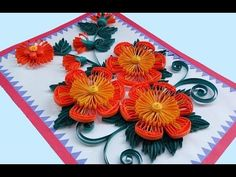 ☑️Quilling Card DIY Paper Quilling Birthday Greeting Card ⏭ Step by Step Paper Quilling Art - YouTube
