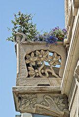 Torino Liberty - Balcone in Via Piffetti