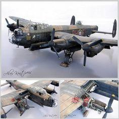 Beautiful!!! Lancaster 1/48 Tamiya. Modeler Alex B. Kontiveis #scalemodel #plastimodelismo #usinadoskits #udk #miniatura #tamiya