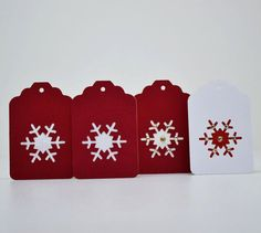 Set of 4 Xmas Gift Tags, Scrapbooking Tags, Tags, Embellishments, Scrapbook Embellishments by TimelessScrappings on Etsy Selling On Pinterest, Scrapbook Embellishments, Christmas Tag, Xmas Gifts, Gift Tags, Card Stock, Greeting Cards, Scrapbooking, Etsy Shop