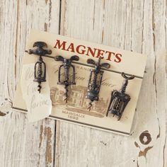 Magnete Corkscrew - Polyresin, Eisen - Dunkelgrau