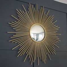 I've just found Large Gold Sunburst Wall Mirror. A fabulous classic gold sunburst mirror . Small Wall Mirrors, Rustic Wall Mirrors, Living Room Mirrors, Round Wall Mirror, Sun Mirror, Wall Mirror Ideas, Frame Mirrors, Square Mirrors, Modern Mirrors