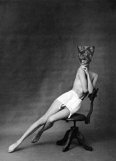 Chantelle Lingerie advertisement, 1958. Photo by Frank Horvat.