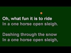 Piano version of jingle bells for the Spanish questions song
