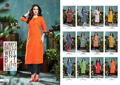 90f237b974 Rani Baanvi Manvi Kurti Catalog 12 Pcs Wholesale Buy Rani Baanvi Manvi Kurti  by Rani Baanvi Brand Ready Made Cotton Online Fancy Designer Stitched  Lowest ...