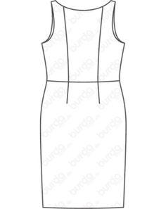 Kleid Grosse 46 56 Grosse Grossen Armellos Teilungsnahte Jerseykleid