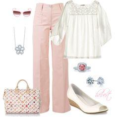 Laid back pink elegance, love!