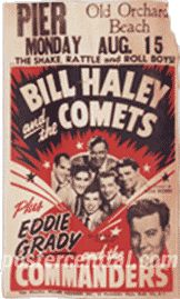 Billl Haley and the Comets poster