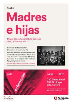 Teatro 'Madres e hijas'. Compañía de Teatro La Paz