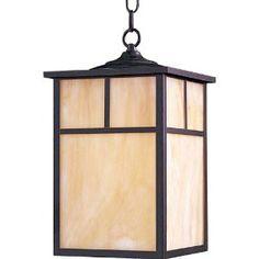 Maxim Lighting 4058HOBU Craftsman Outdoor Pendant