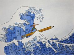 The Great Wave of Homework by r_henisey, via Flickr