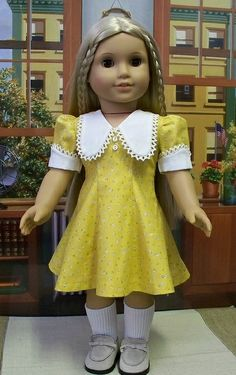1970's Flared Dress made for Julie by Keepersdollyduds, via Flickr