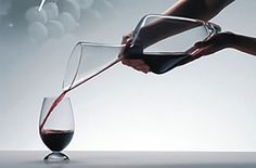 This beautiful Tyrol decanter by Riedel is elegantly shaped and provides perfect aeration for your favorite wine. As Christian Moueix once said, you decant old Read Carafe, Best Wine Decanter, Malbec Wine, Wine Education, Wine Reviews, Wine Parties, Vintage Perfume Bottles, Wine And Beer, Wine Glass