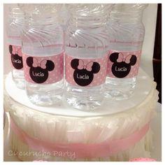 Botellas personalizadas Minni Mouse