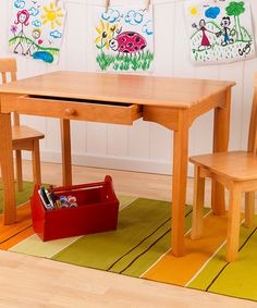 Have to have it. Lipper Childrens Rectangular Table and Chair Set ...