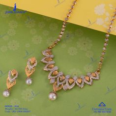 Get in touch with us on 990 444 3030 Gold Jewelry Simple, High Jewelry, Jewelry Stores, 1 Gram Gold Jewellery, Gold Jewellery Design, Diamond Earrings Indian, Gold Mangalsutra Designs, Gold Ornaments, Gold Necklaces