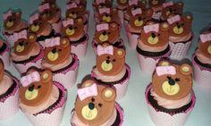 Mini-cupcake Ursinha