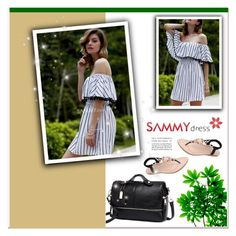 """""""Sammydresses"""" by janee-oss ❤ liked on Polyvore"""