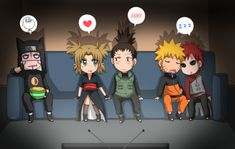sooo cute. I'll sit with you Kankuro 0-0