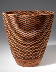 Africa | Basket from Cameroon | Plant fiber | ca. 1980