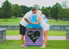 Gender Reveal Shoot at Suwanee Town Center by Twiggy Photo Inc. North Atlanta Photographer