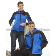 Mens BIZTECH Contrast Soft Shell Jacket