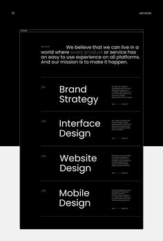 UPROCK is a brand and digital studio based in Russia, offering complete solutions from concept to execution, to build, transform and leverage your business. Best Website Design, Site Web Design, Design Ios, Interface Design, Page Design, Flat Design, Website Layout, Web Layout, Website Ideas