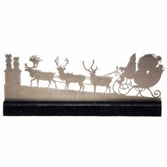 The flying reindeer, the chimney pots, and the waiting children...wake us up when December comes.