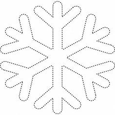 snowflake Coloring Pages snow Christmas Ornament Template, Felt Christmas Ornaments, Christmas Art, Christmas Decorations, Snowflake Template, Snowflake Pattern, Snowflake Coloring Pages, Butterfly Coloring Page, Decoration Creche