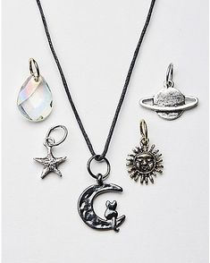 Celestial Charms Necklace - Spencer's