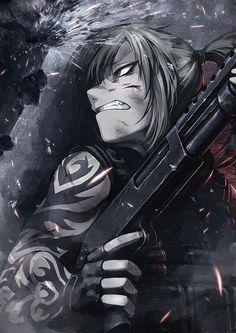 This is not an anime nor a manga. Its fan art drawn by an artist. Revy Black Lagoon, Black Lagoon Anime, Anime Military, Military Girl, Cool Anime Girl, Anime Art Girl, Anime Girls, Character Inspiration, Character Art