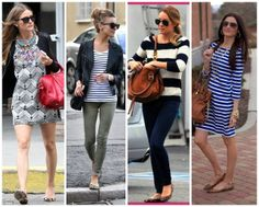 Leopard flats with stripes.  My favorite!