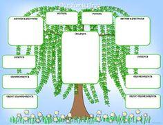 reverse family tree template