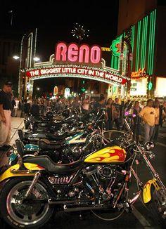 Street Vibrations in Reno, Nevada.