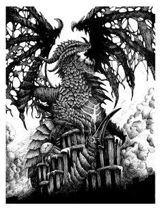 Deathwing Dragonlord: Hearthstone Fan Art on Behance