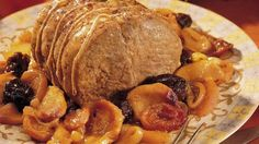Slow-Cooker Roast Pork with Fruit... Imagine, slow cooker 'n spice aromatherapy and dinner done when you walk in the door after a hectic day.