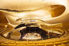 Paris' nyåpende filharmoniske konserthus er fått internasjonal oppmerksomhet for sin originale arkitektur. En musikalsk og estetisk opplevelse, og med en takterrasse i pausen som har en unik utsikt over hele Paris.