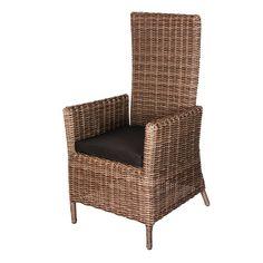 De verstelbare tuinstoel Saar is een zeer comfortabele stoel. De stoel is geheel verstelbaar dankzij de gasdrukveer. Ook het type wicker dat is gebruikt voor deze stoel is zeer bijzonder, bij deze stoel heeft u namelijk het gevoel van echt riet. #Tuinstoel #Tuinstoelen #tuinmeubelen #tuinmeubel #tuinmeubels