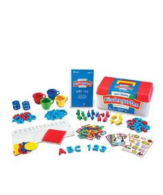 Another great find on #zulily! Let's Tackle Kindergarten Readiness Kit #zulilyfinds
