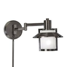 Amazon Globe Electric LeClair 1 Light Plug In Or Hardwire Industrial Wall Sconce Dark Bronze Finish On Off Rotary Switch Canopy